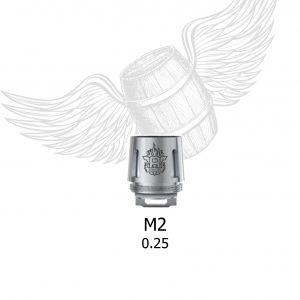 RESISTENCIAS TFV8 M2 0.25OHM SMOK