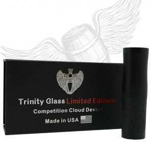 US.1 MECH MOD Limited Edition BLACK TRINITY GLASS VAPE