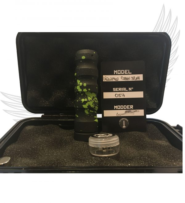 Liquidator Mech Mod CHERNOBYL MODS Black green splatter